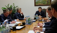 01.30.2015 // The Minister of Energy of the Russian Federation Alexander Novak held a meeting with the management of oil and gas companies on the development of the industry in 2015